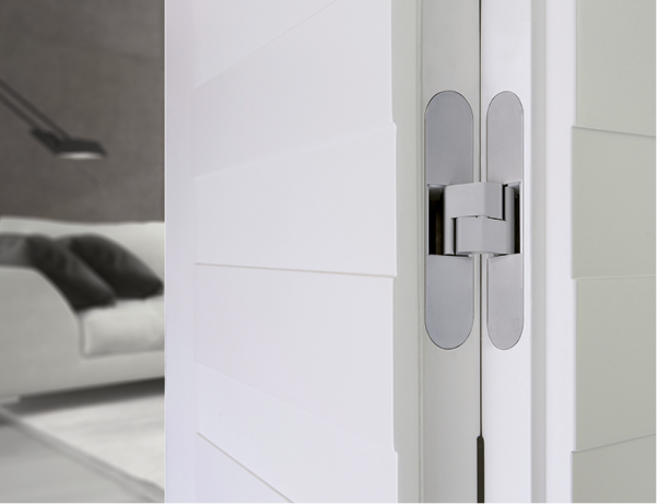 Invisible from outside, refinement in door design